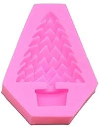 ToGames-ES Diseño Lindo Divertido árbol de Navidad Forma del Molde de la Torta Herramientas