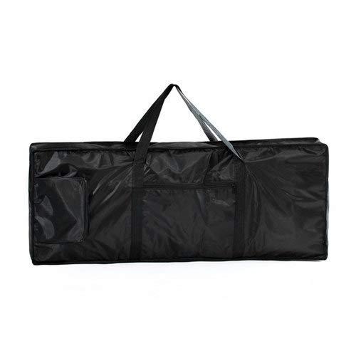 Zimo Keyboardtasche Wasserdichte 61 Tasten Rucksack schwarz Reisetasche
