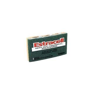 Armaly Brands 21006 6.125 in. x 3.5 in. x .8 in. Large Estracell Heavy-Duty Scrub Sponge