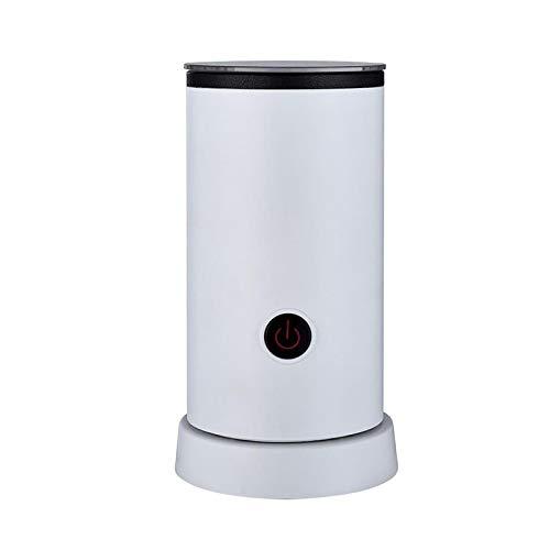 Milchaufschäumer, tragbarer elektrischer Milchschäumer mit heißer oder kalter Funktionalität, automatischer Edelstahl-Milch-Dampfer Verwendung für Latte Cappuccino, heiße Schokolade und Kaffee -