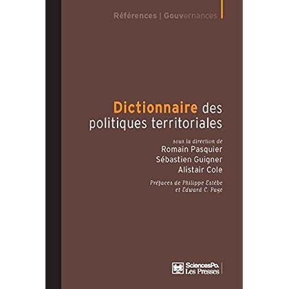 Dictionnaire des politiques territoriales (Académique)
