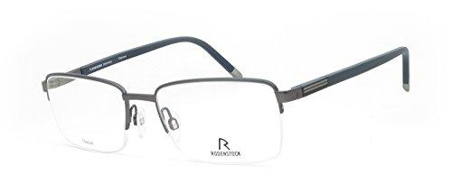 Preisvergleich Produktbild Rodenstock - R7039, Rechteckig, Titan, Herrenbrillen, BLACK(C 45), 54/18/140