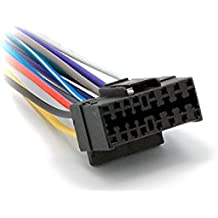 CARAV 15–009coche ISO Radio Estéreo Arnés De Cabeza Cable para Sony/JVC (modelos seleccionados) Cable adaptador enchufe conector de cableado cable
