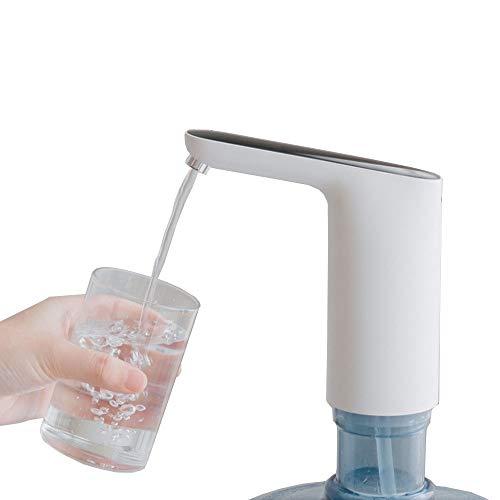 trische Trinken Wasserflaschen-Spender-Pumpe Automatisches elektrisches Trinkwasser - USB-wiederaufladbarer Kessel-Spender Portable für Haus u. Küche u. Im Freiencamping ()