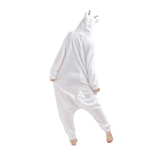 Imagen de cuteon animal carnaval disfraz cosplay pijamas adultos unisex mamelucos homewear ropa de noche cabra large alternativa