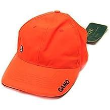 Gamo Outdoor Safe Gorra, Hombre, Naranja, Talla Única