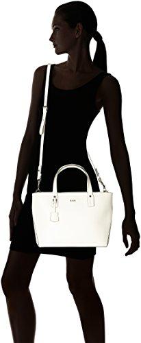 Joop! - Pure Kornelia Handbag Mhz, Borse a secchiello Donna Bianco (Offwhite)