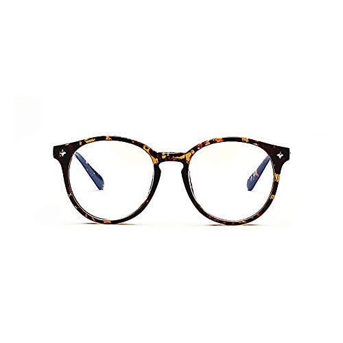 Anti-Blau-Licht-Computer-Brille Vintage Runde optische Brillen verbessern den Schlaf - Anti-Glare \u0026 Anti-Fatigue Unisex-2