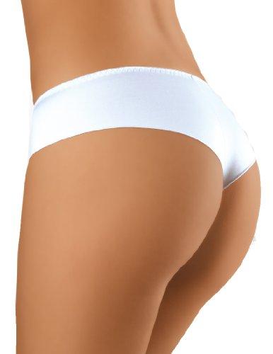 Einfache & Elegante dailywear Damen Tanga Weiß