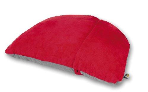 Salewa cuscino pillow shape, rosso (brick), taglia unica