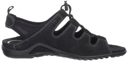 Ecco - Vibration II e confortevole sandalo di Ecco Nero (nero)