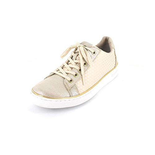 MUSTANG Sneaker Größe 42, Farbe: Champagner apricot