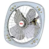 #8: Favy Metro/Turbo Trans Air EXHAUST FAN || 225 mm (9 inch) || Double Ball Bearing And 4 Leaf Metal Blade Facility || For Kitchen,Bathroom,Store,Office || COLOR AS PER STOCK AVAILABLE || IS :996 Approved Motor