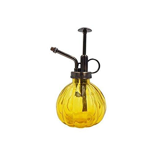 YOUYE Glas-Sprühflaschen, Verstopfungsfrei, Gartenarbeit und Fütterung, Hausmeisterarbeiten, Reinigung, Haushaltsführung, Büro, Allzweckreiniger, Glasreiniger Sprayer 200Ml,Yellow