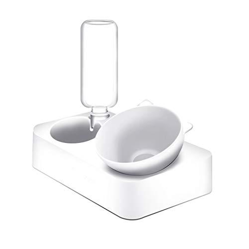 Pet Bowl Pet Feeder Automatische Wassernachspeisung Pet Feeding Bowl Pet Fun Feeder FKYGDQ (Size : 29.3cm×17.5cm×25.5cm) -
