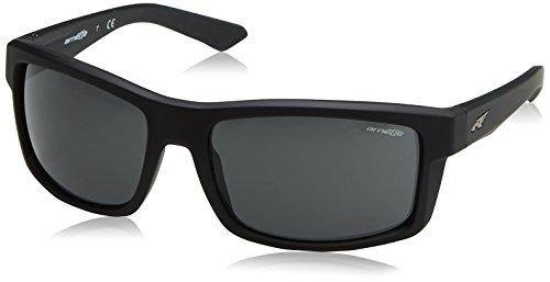Arnette Herren 0AN4216 447/87 61 Sonnenbrille, Schwarz (Fuzzy Black/Dark Grey),