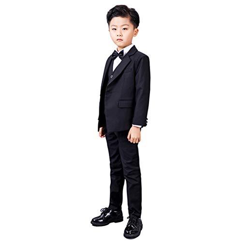 ngen Outfits Baby Boy '4 Stück Set Formale Smoking Anzüge Keine Schwanz Hochzeit Taufe Taufe Outfits Baby Boy Outfits Set ()