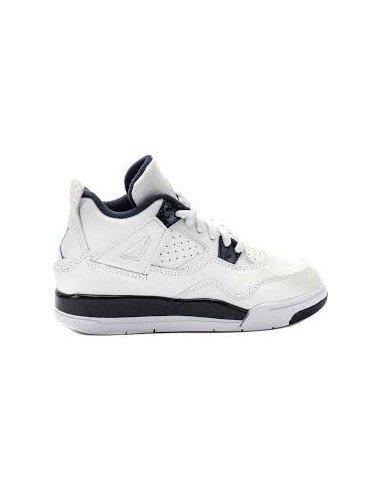 Nike Jordan 4 Retro LS BP, Chaussures de Sport Garçon