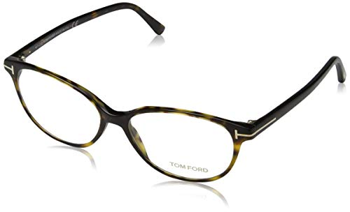 Tom Ford Damen Ft5421 Brillengestelle, Braun (AVANA SCURA), 53