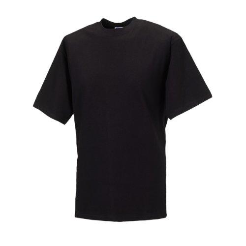Jerzees Colours Classic T-Shirt für Männer (2XL) (Schwarz) (T-shirt 2xl)
