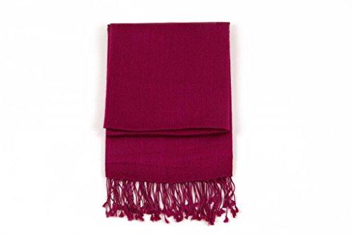 Ritz Collection les châles de soie pashmina des femmes Prune