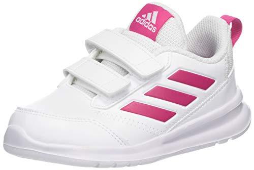 Adidas Altarun CF I, Zapatillas de Gimnasia Unisex bebé, Blanco FTWR White/Real Magenta/FTWR White...