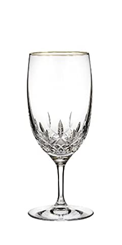 Waterford Crystal Waterford Lismore Essence Gold Stemware Iced Beverage Glass