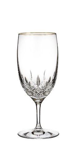 Waterford Lismore Essence Gold Stemware Iced Beverage Glass by Waterford Waterford Lismore Iced