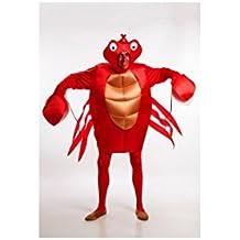 Disfraz de Cangrejo para Hombre talla Universal M-L