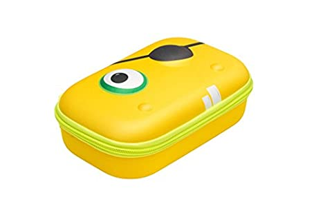 ZIPIT Beast Box Hard Shell Pencil/Storage Box, Yellow