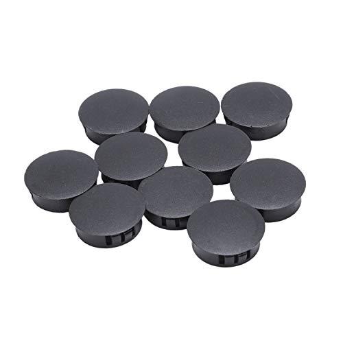 RETYLY 10 Stuecke Kunststoff Loch Abdeckkappen Buchse Kappen 30mm x 35mm x 11mm