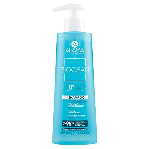Scheda dettagliata Alama Professional Biocean Shampoo Volume e Leggerezza, Azzurro - 300 ml
