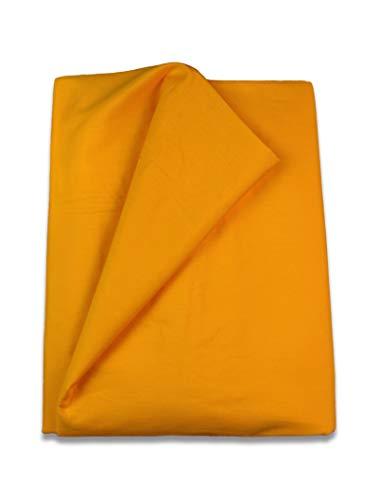 Copripiumino Matrimoniale 220x260.Home Royal Funda Nordica Lisa De 220 X 260 Cm Para Cama De 135 Cm Color Amarillo