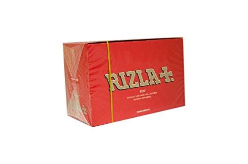 Rizla Rot standard Größe Zigarette Rolling Papier-100Heftchen -