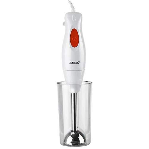 Xmwm Mezclador de Alimentos Exprimidor Mezclador 300W Colorido Cocina eléctrica Batidora de Mano Desmontable...