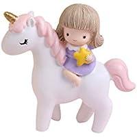 Mini Deko Einhorn Kopf Figur 5,5 cm Pferd Unicorn Ornamenten, figuren