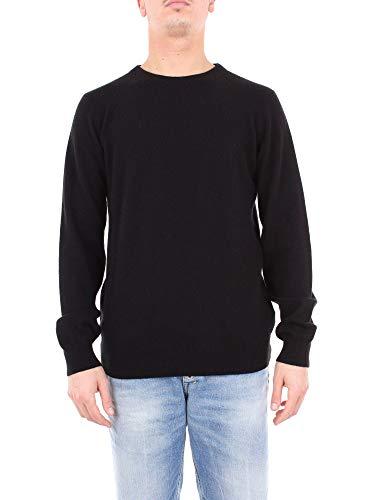 RICHMOND Herren Rma18282manoblack Schwarz Wolle Sweater