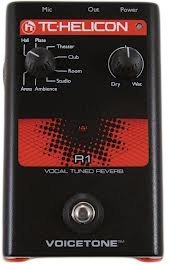 TC HELICON VOICETONE R1 Vocal Tuned Reverb, Pedal -