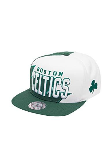 Preisvergleich Produktbild Mitchell & Ness Herren Snapback Caps HWC Sharktooth Bosten Celtics grün Verstellbar