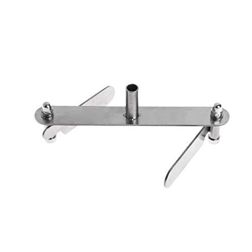 MuSheng Zentrierzange für Holzbearbeitung, Zentrierwerkzeug, Markiermesser, Anreißer, Zentrierlinie, Tischlerwerkzeuge mit Bleistiften, Wie abgebildet,Marking Center Finder Zentrierspitze (A) (Manometer Bleistift)