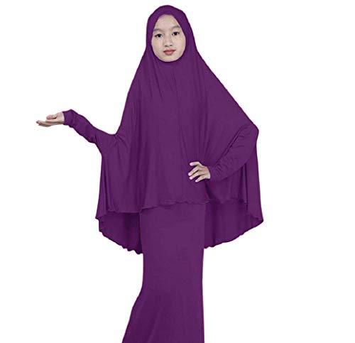 Makefortune 2019 Damen Muslimische Kleider, Frauen Langarm Kleid Elegant Stickerei Knöchellang Kleid Tunika Abaya Dubai Kleider Damen Abendkleid Hochzeit Kaftan Robe Islamische Frauen Gewand