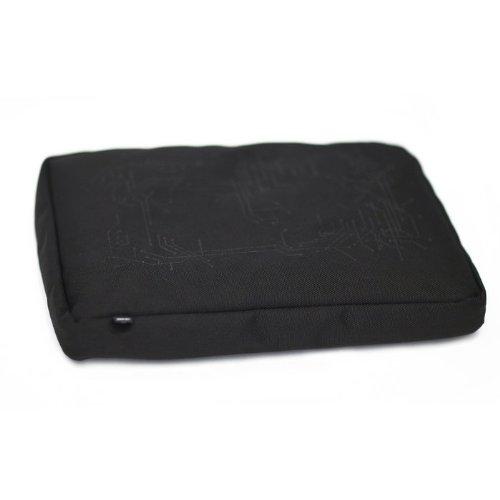 Bosign Surfpillow Hitech for laptop Schwarz 40,6 cm (16 Zoll) - Notebook-Ständer (Schwarz, 37,9 cm (14.9 Zoll), 40,6 cm (16 Zoll), Polyester, Silikon, 370 mm, 270 mm)