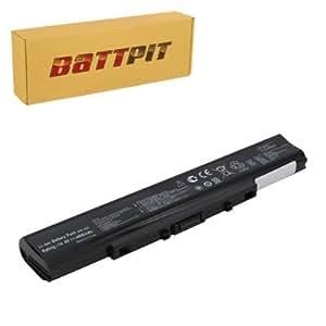Battpit Batterie d'ordinateur Portable de Remplacement pour Asus X35S (4400mah / 65wh)
