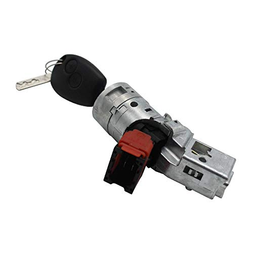 Docooler Nuove chiavi interruttore avviamento barilotto blocco per Renault Clio Modus Trafic principale 7701208408 8200214168
