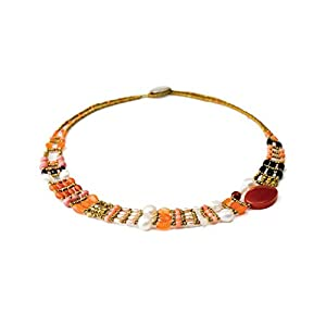Collana THIN Red Onyx