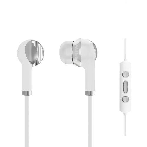 Koss The Plug (Koss KS181272 KTC Kopfhörer für Apple iPhone/iPad/iPod mit Mikrofon weiß)