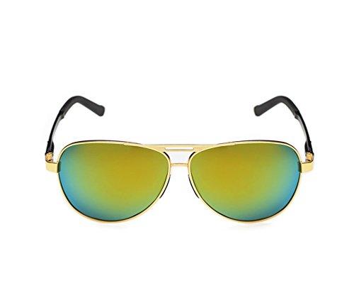 Tansle Herren Sonnenbrille Grün Schwarz/Grün