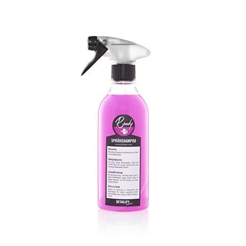 Detailify Sprühshampoo Roady Autoshampoo Wasserlose Reinigung Korrosionsschuz Autowäsche ohne Wasser Glanz Detailing Spray
