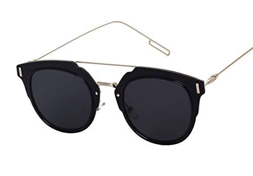 Wikibird Sonnenbrille unzerstörbar aus flexiblem Gummi Sonnenbrillen Edelstahl Cat Eye Sonnenbrille...