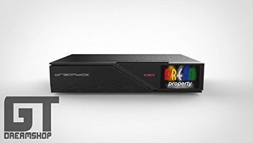 DreamBox 900 UHD 4K E2 Linux Dual DVB-S2 Twin Sat Receiver Schwarz 2160p PVR
